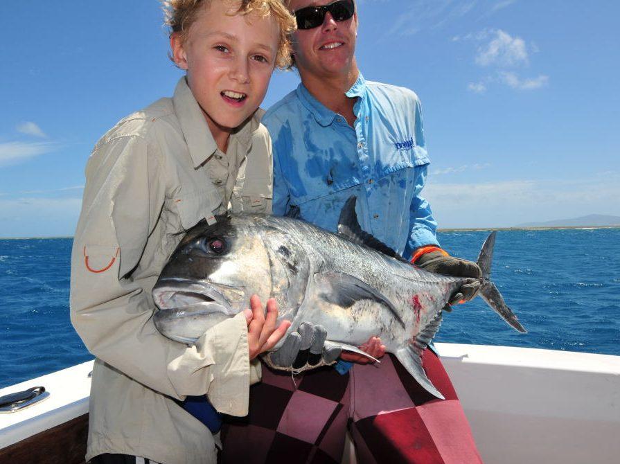 Trevally - Big eye | HUMANE KILLING OF FISH - iki Jime