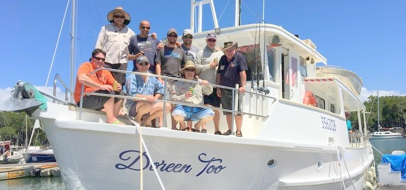 Doreen too fishing charters fishing cairns for Port charlotte fishing charters